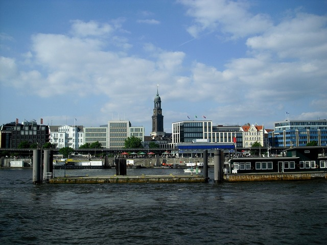 Hamburg port city st.