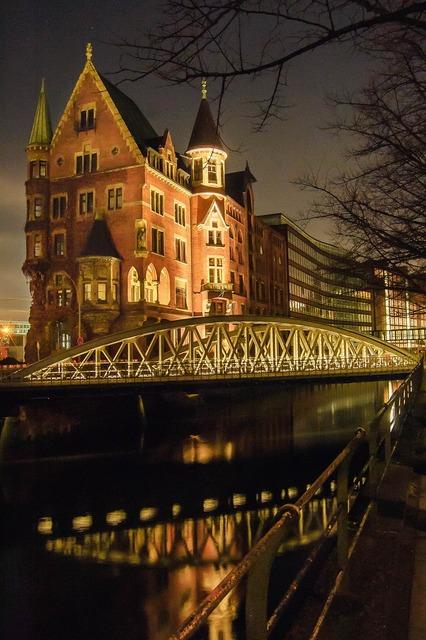 Hamburg speicherstadt building, architecture buildings.