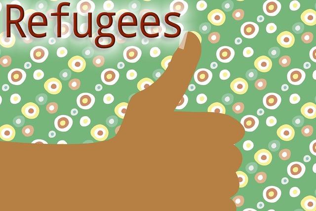 Hand refugee asylum.