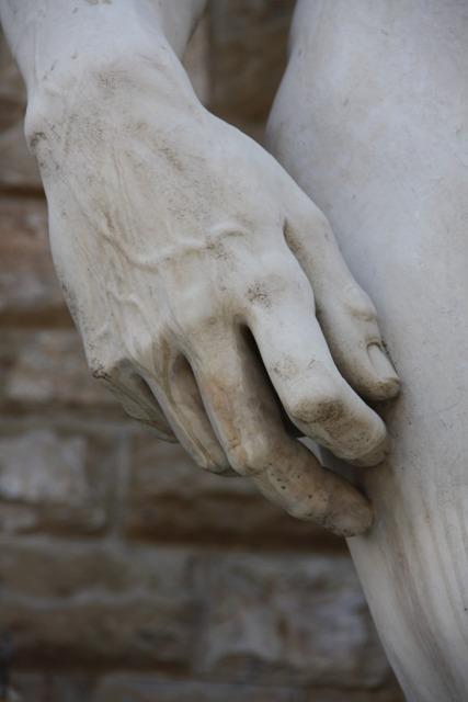 Hand sculpture rome.