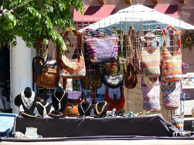 Handmade necklace purse.