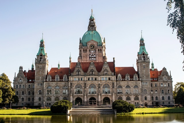 Hannover city hall germany, places monuments.