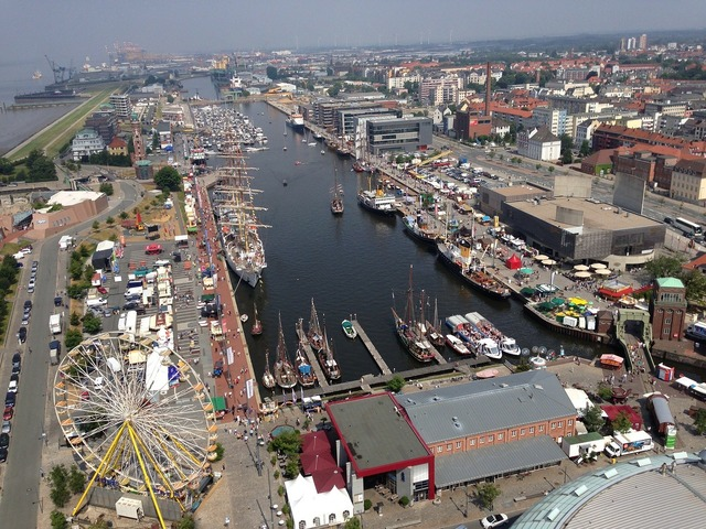 Harbour festival bremerhaven port.