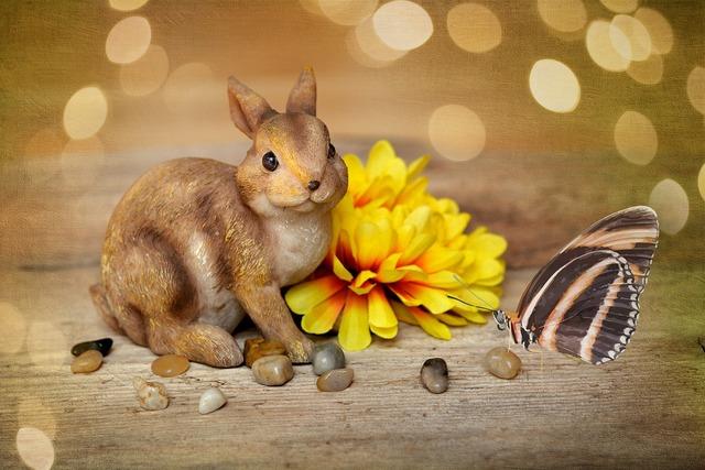 Hare easter bunny dekohase.
