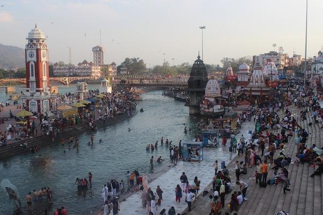 Haridwar ganga india, religion.