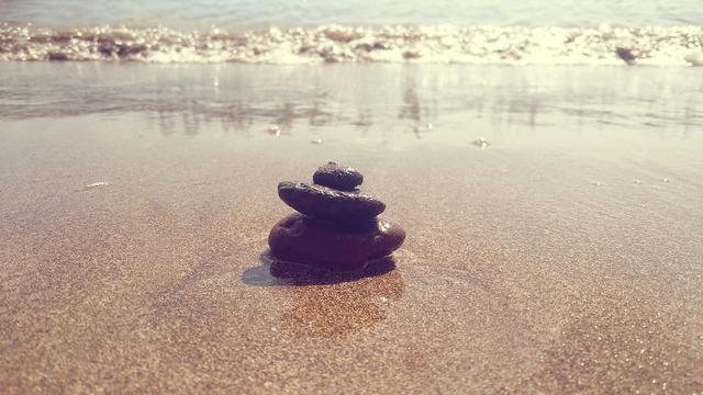 Harmony zen balance, travel vacation.