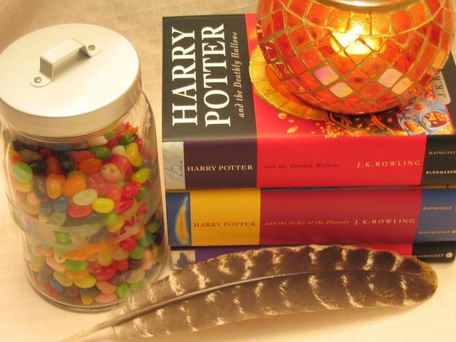 Harry potter books fantasy.