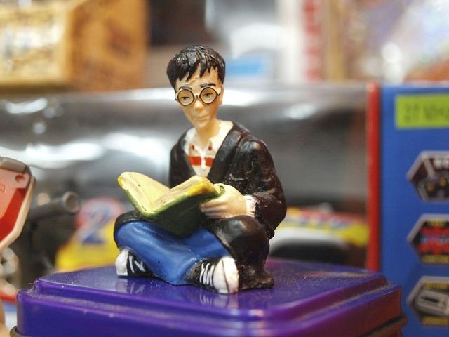 Harry potter figure toy.