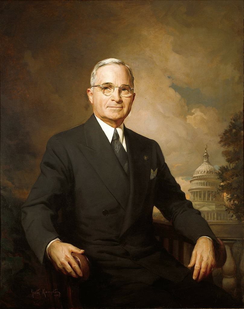 Harry s truman president usa.