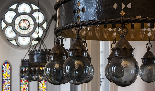 Hässleholm church interior, religion.