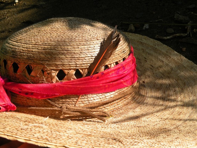 Hat feather shade, travel vacation.