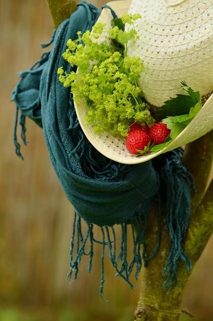 Hat summer straw hat.