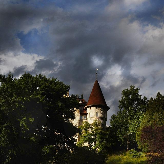 Haunted house castle schaffhausen.