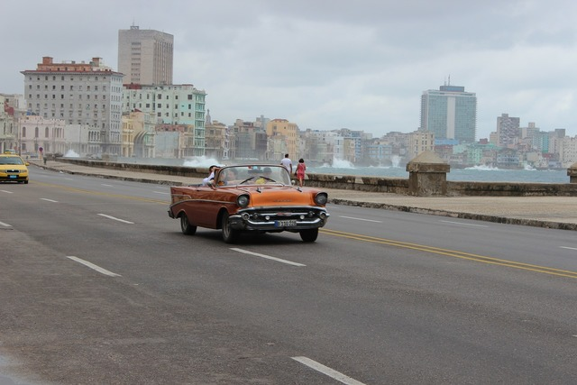 Havana cuba old cars, transportation traffic.