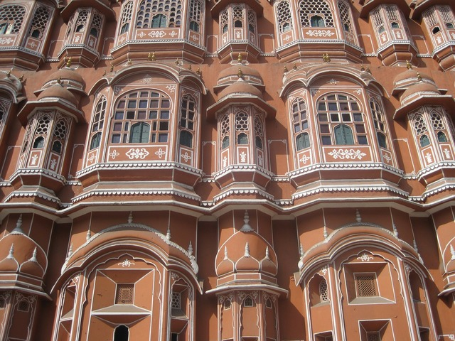 Hawa mahal palace palace of winds, architecture buildings.