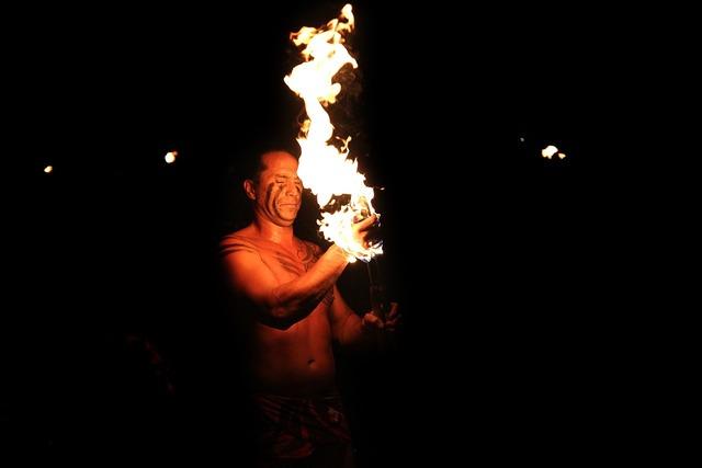Hawaii fire dance hawaii fire, sports.