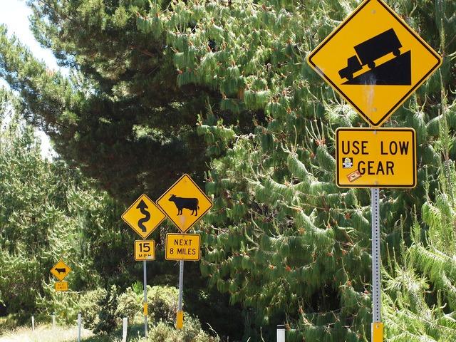 Hawaii maui signs, transportation traffic.