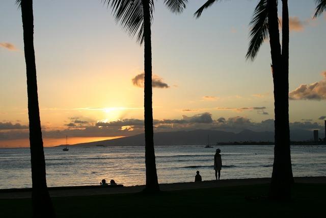 Hawaii waikiki honolulu, travel vacation.