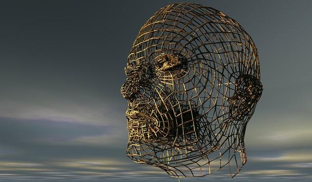 Head human head half profile, people.