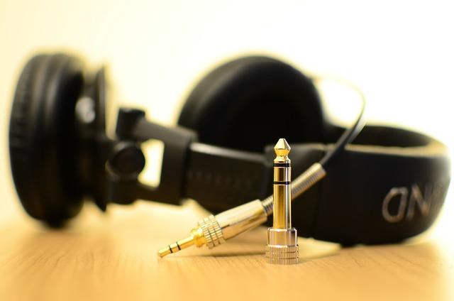 Headphones headset music, music.