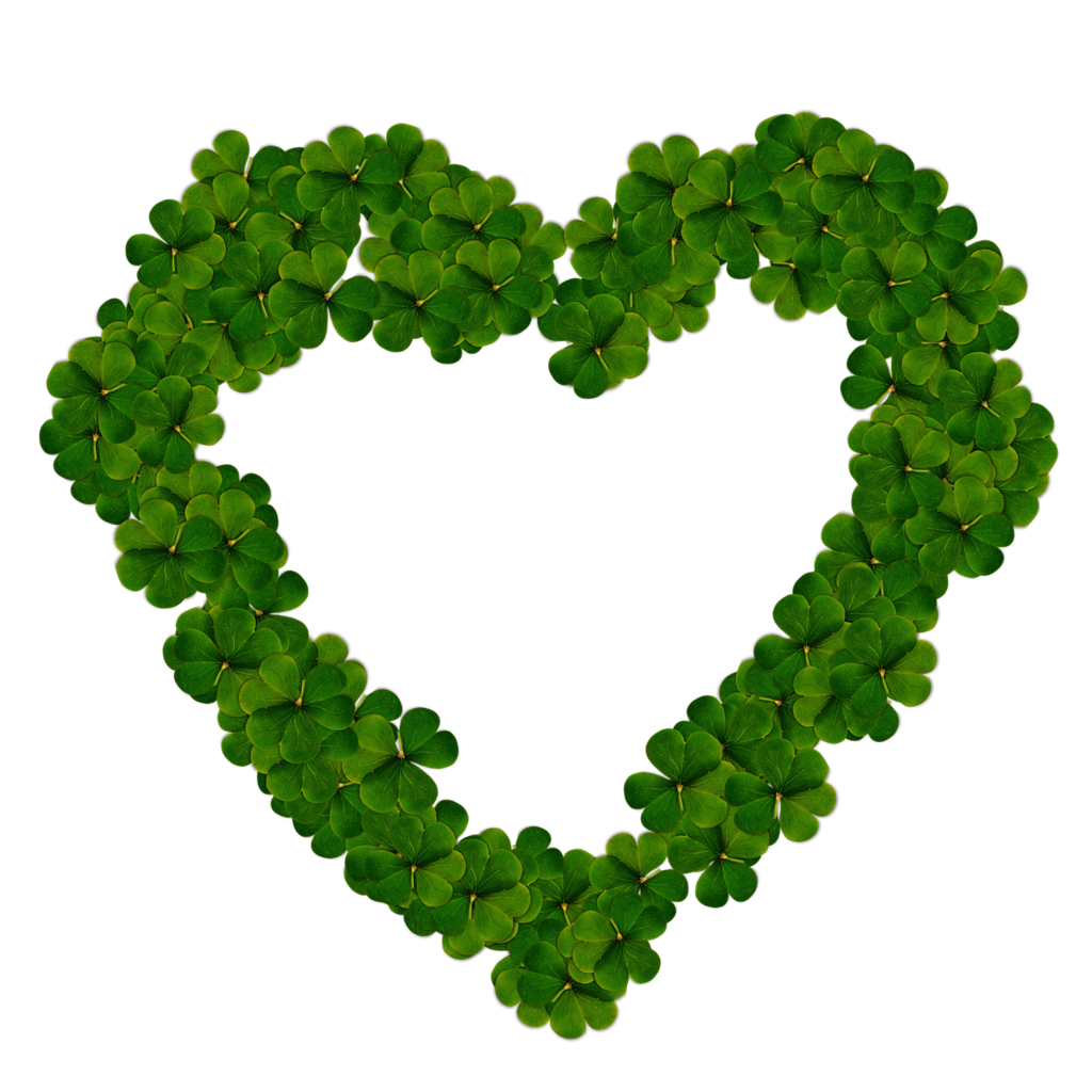 Heart clover png, emotions.