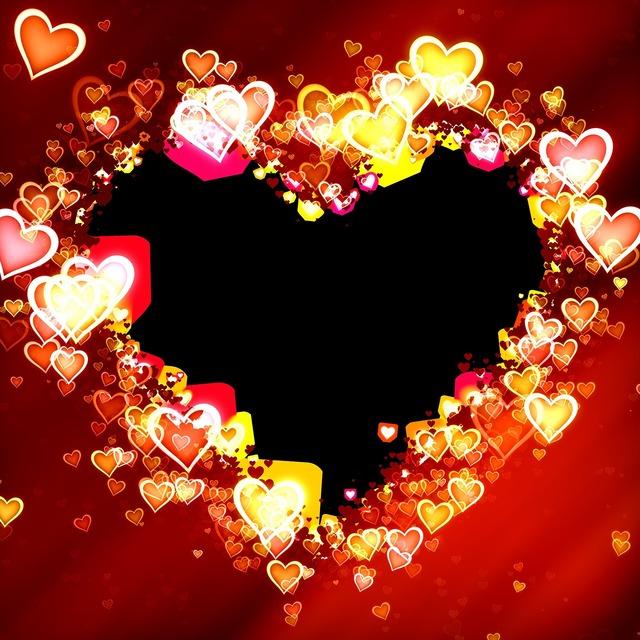 Heart frame picture frame, emotions.