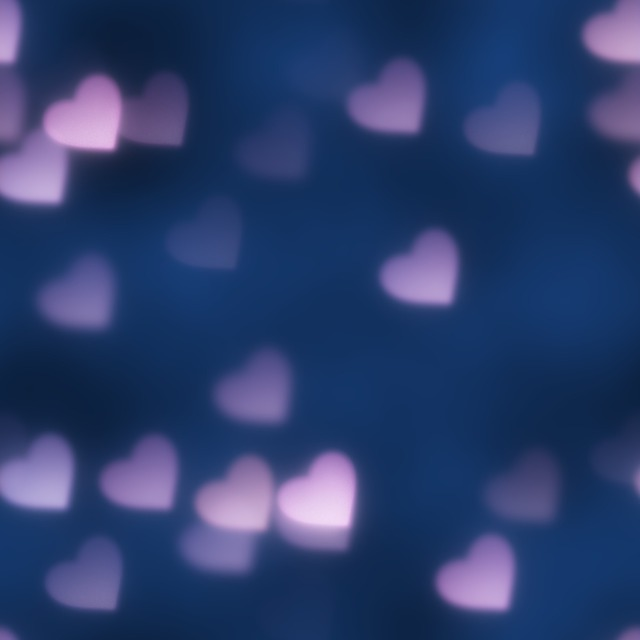 Hearts bokeh light, backgrounds textures.