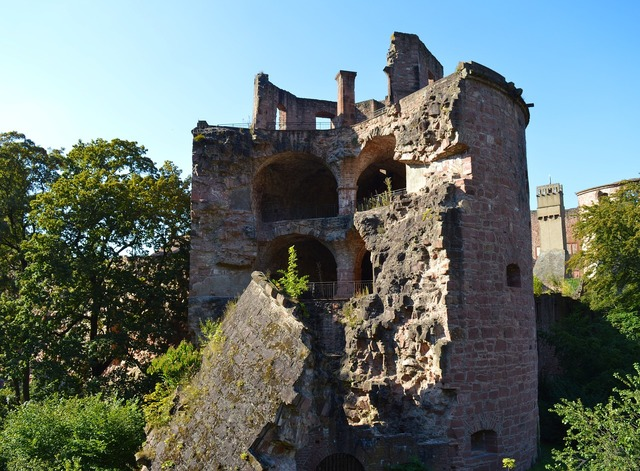 Heidelberg castle heidelberger schloss, architecture buildings.