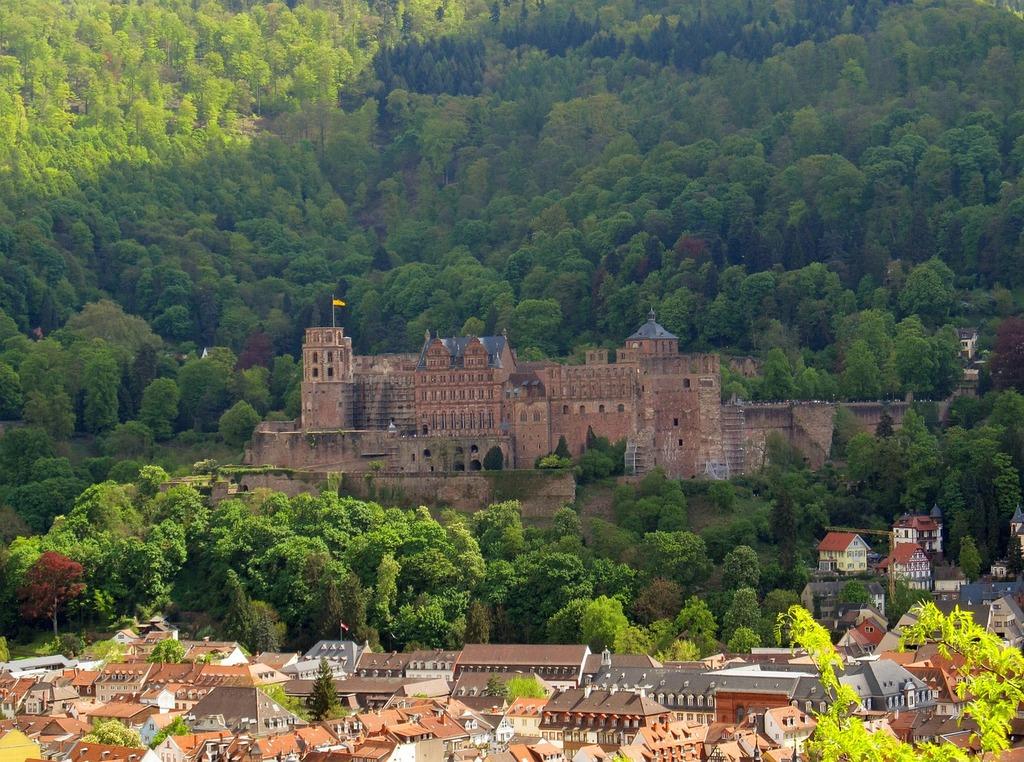 Heidelberg heidelberger schloss neckar, architecture buildings.