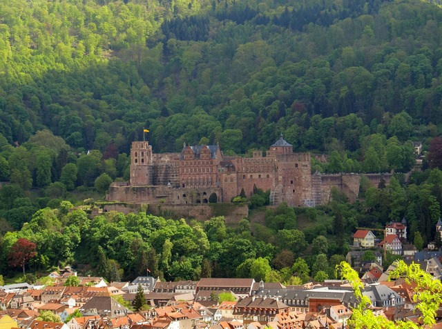 Heidelberg heidelberger schloss neckar, architecture buildings.