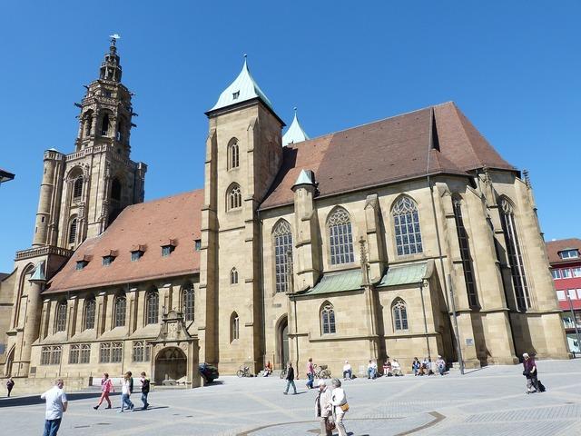 Heilbronn church gothic, religion.