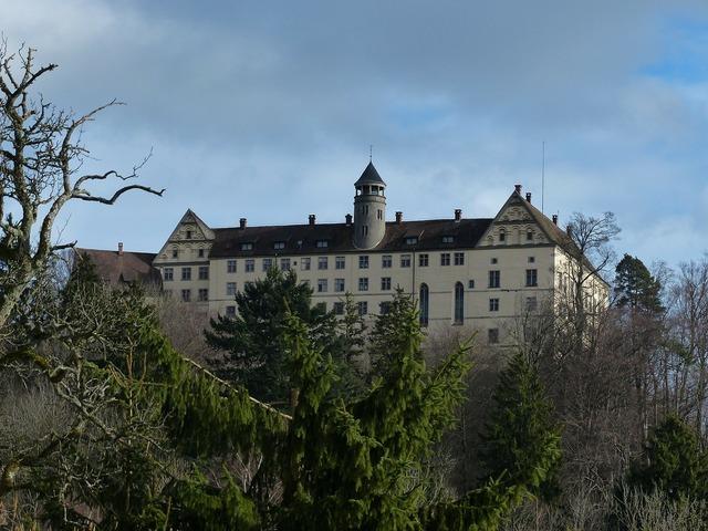 Heiligenberg castle castle renaissance style, architecture buildings.