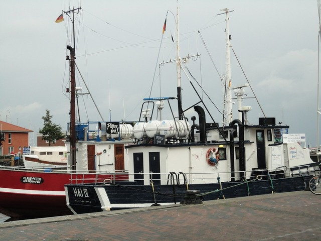 Heiligenhafen baltic sea coast.
