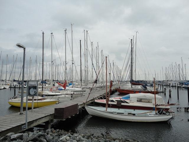 Heiligenhafen baltic sea northern germany.