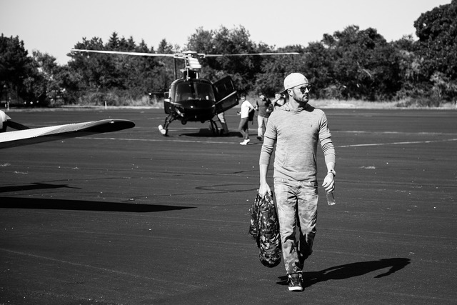 Helicopter airport hamptons.