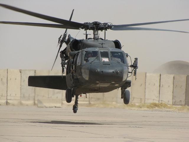 Helicopter iraq blackhawk.