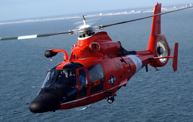 Helicopter mh-65 dolphin search and rescue, travel vacation.