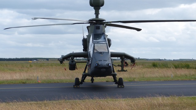 Helicopter military aircraft.