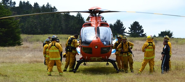 Helicopter rescue emergency, health medical.