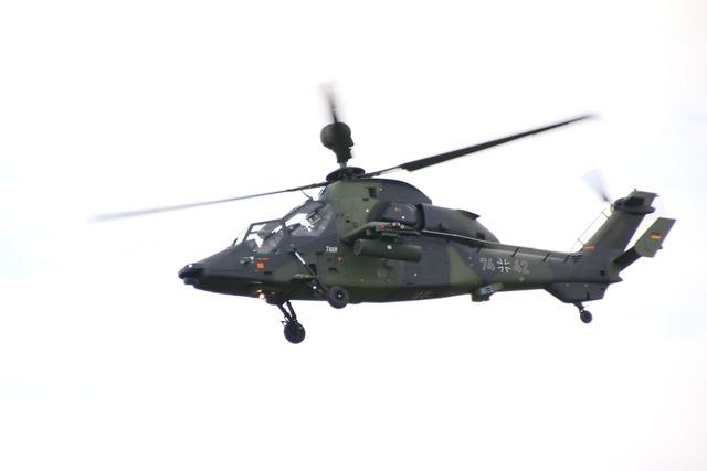 Helicopter tiger gunship.