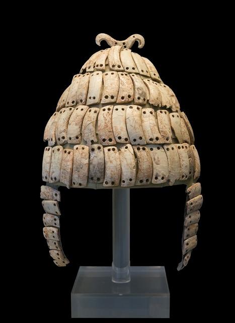 Helmet boar's tusk ancient.