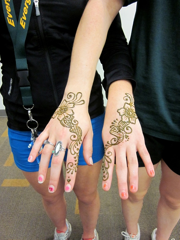 Henna Mehndi Hands Backgrounds Textures Picryl