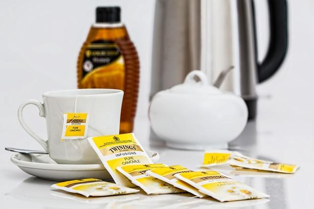Herbal tea teabags beverage, food drink.