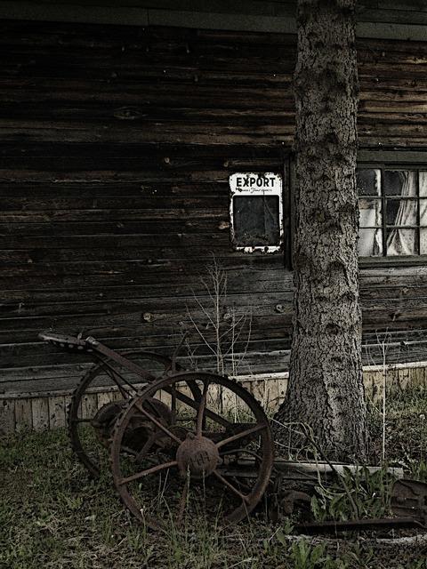 Heritage farm equipment nostalgia.