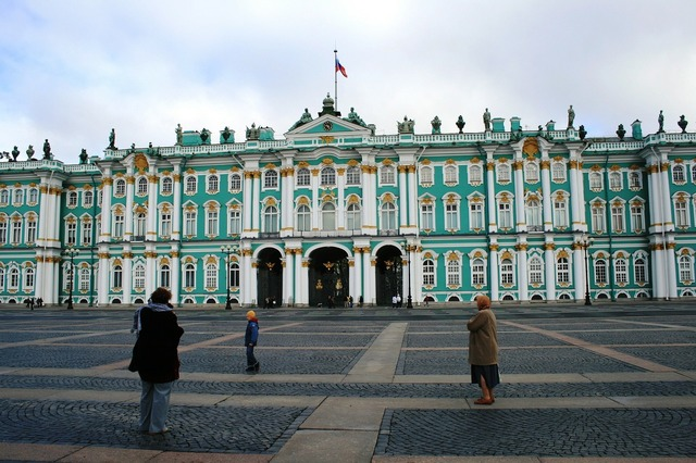 Hermitage winter palace building, architecture buildings.