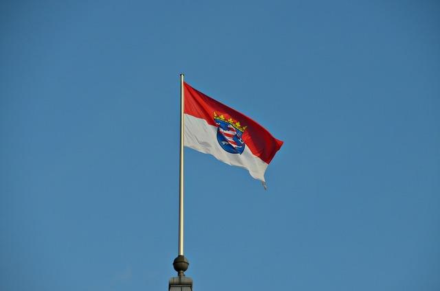 Hesse flag wind.