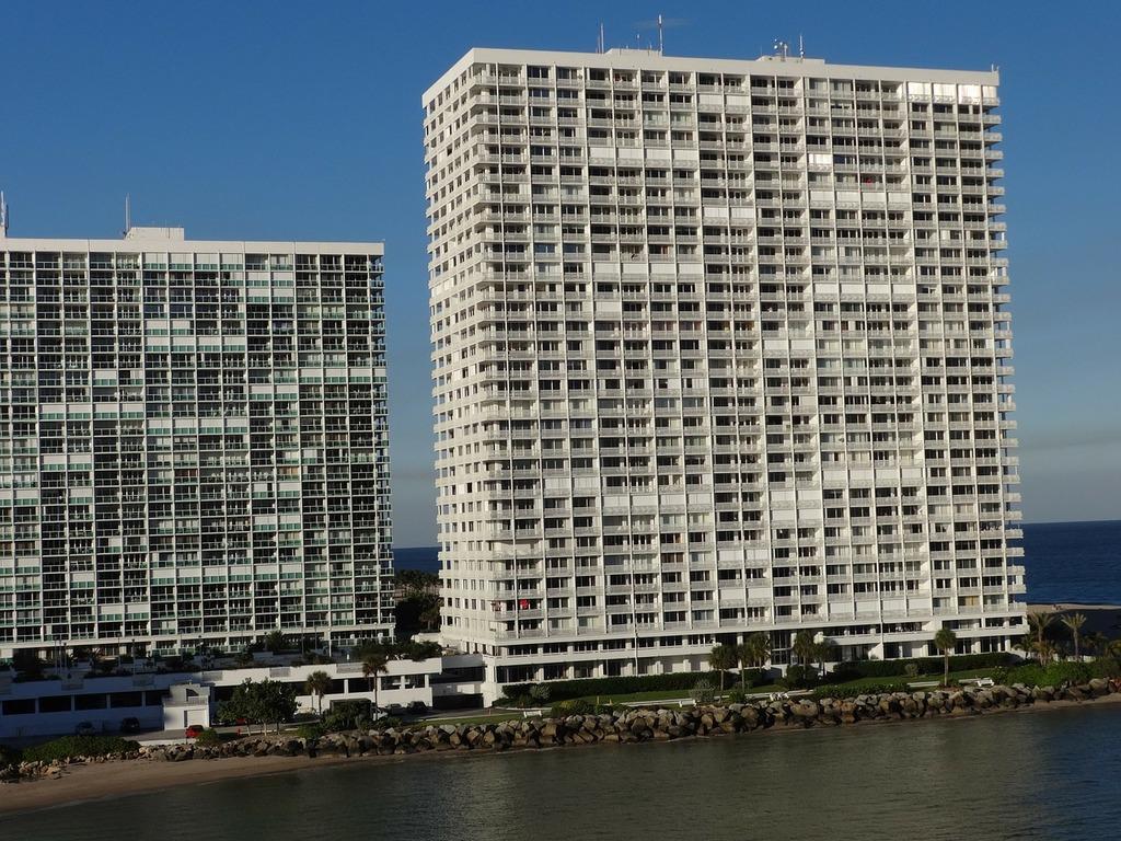 High rise condos buildings, architecture buildings.