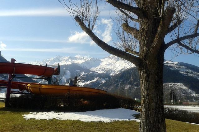 High tauern mountains snow.