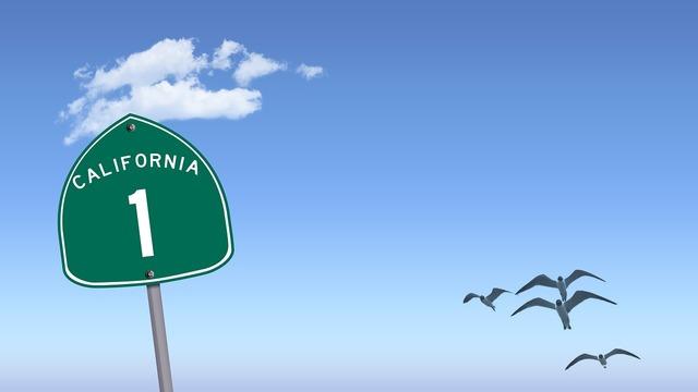 Highway 1 california 1 highway, travel vacation.