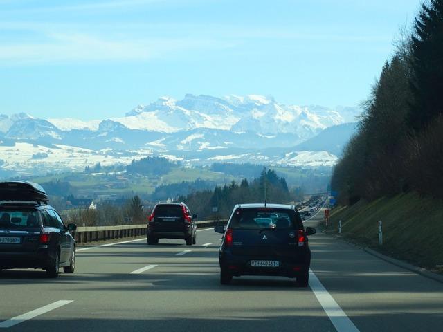 Highway expressway roadway.